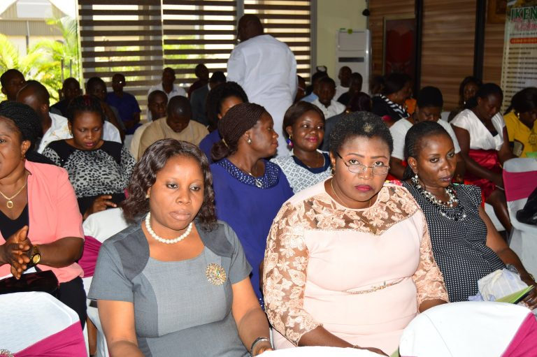 Cross section of CBSS staff during the event