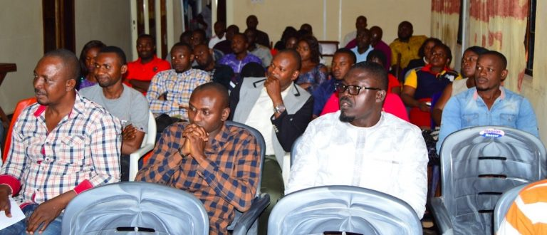 Cross section of Scinece Officers in CBSS during the break out section lecture for CBSS scientists