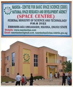 The Newly Commissioned Astronomy Observatory Complex of NASRDA-Center for Basic Space Science.
