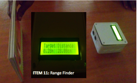 ITEM 11- Range Finder