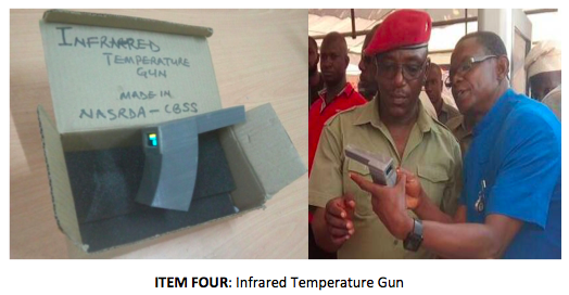 ITEM FOUR-Infrared Temperature Gun