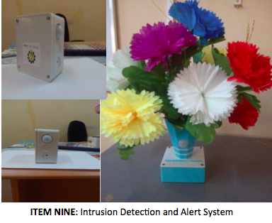 ITEM NINE Intrusion Detection and Alert System